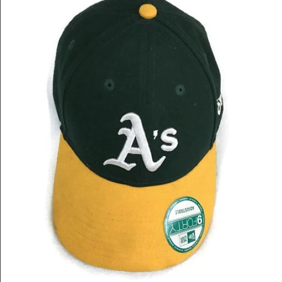 f15f7e8a1e0a1 Oakland Athletic Baseball Cap green Strapback